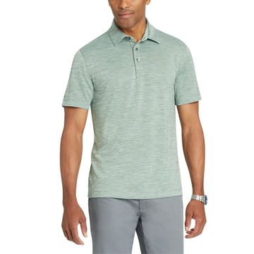 Men's Van Heusen Never Tuck Slim-Fit Space Dye Polo