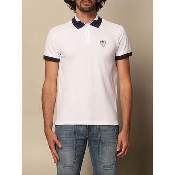 Ea7 polo shirt in cotton with logo