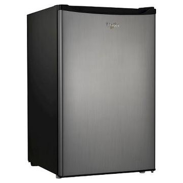 Whirlpool 4.3 cu ft Mini Refrigerator Stainless Steel BC-127B