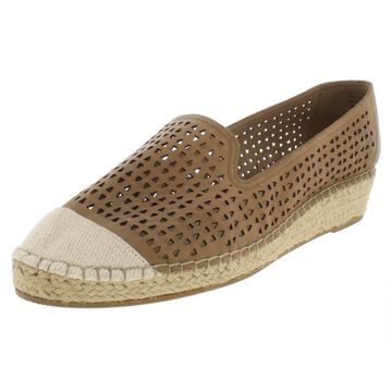 Bella Vita Womens Channing Leather Wedge Espadrilles