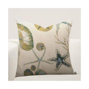 "Siscovers Naples Ocean Decorative Pillow, 16"" x 16"""