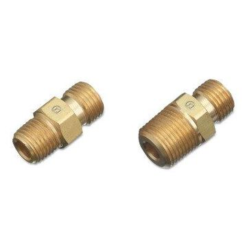 Regulator Outlet Bushings, 200 Psig, Brass, D-Size, 1/2 in (Npt), Oxygen