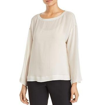 Eileen Fisher Sheer Top