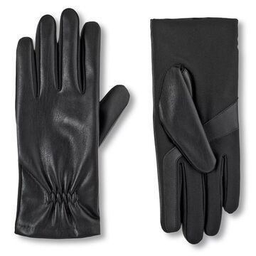 Women's isotoner Lined Faux Leather Gloves