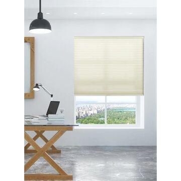 "Arlo Blinds Cream Light Filtering Cordless Cellular Shades (40""W x 72""H)"