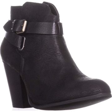 Xoxo Womens Katniss Closed Toe Ankle Fashion Boots