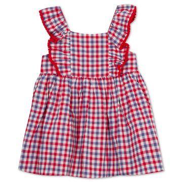 Baby Girls Ruffle Gingham Dress