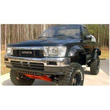 Bushwacker 89-95 Toyota Cutout Style Flares 2pc - Black