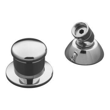 KOHLER Polished Chrome Shower Holder with Hose | 8549-CP