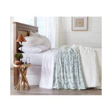 Home Fashions Designs Isabel Collection Ultra Plush Printed Full / Queen Bed Blanket Bedding