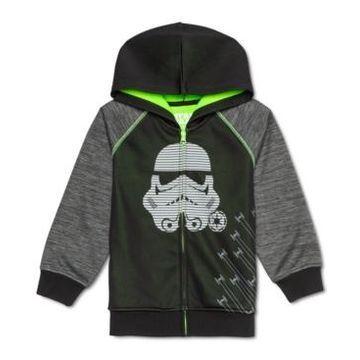 Star Wars Little Boys Stormtrooper Colorblocked Full-Zip Hoodie