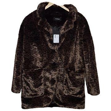 The Kooples FW18 Brown Faux fur Coats