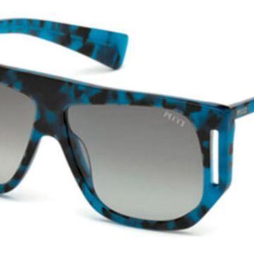 Emilio Pucci EP0077 55B Womenas Sunglasses Tortoise Size 57