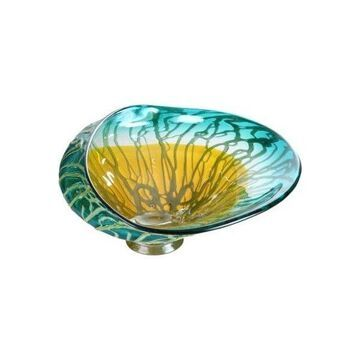 Moes Home Collection HS-1007 Decorative Bowl Container, Marine