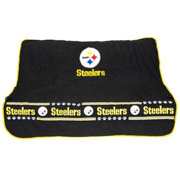 Pets First Pittsburgh Steelers Car Seat Cover, Standard, Multi-Color
