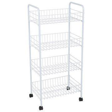 Simplify 4-Tier Rolling Storage Cart