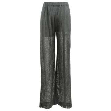 Issey Miyake \N Green Polyester Trousers