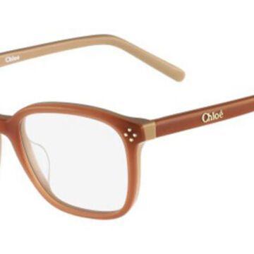 Chloe CE 2667 Boxwood 208 Womenas Glasses Brown Size 50 - Free Lenses - HSA/FSA Insurance - Blue Light Block Available