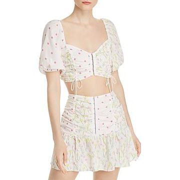 For Love & Lemons Strudel Crop Top
