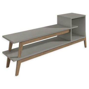 Manhattan Comfort Essence TV Stand in Grey