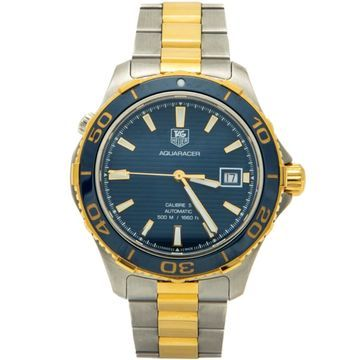 Tag Heuer Aquaracer Blue gold and steel Watches