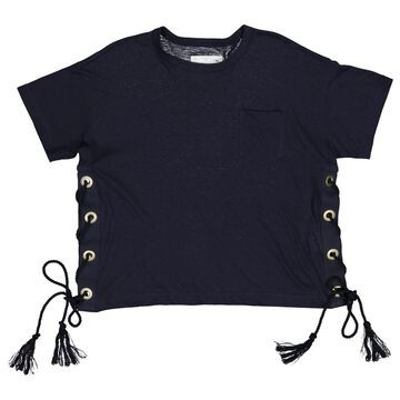 Sacai \N Navy Linen Tops