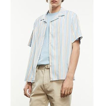 The Kooples Blue Striped Shirt