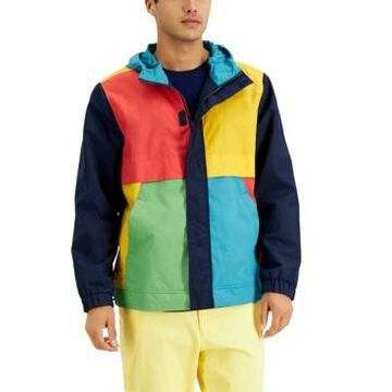Club Room Men's Colorblocked Utility Jacket, Created for Macy's