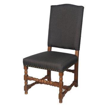 Alba Chair, Black, 21.5x20.5x43