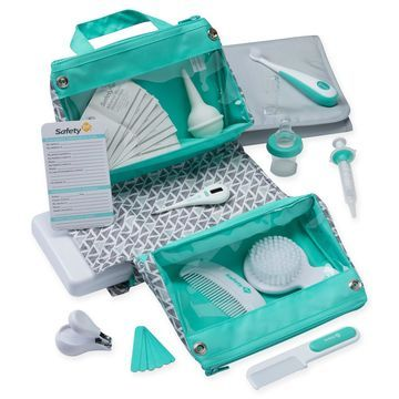 Safety 1st& 30-Piece Welcome Baby Nursery Kit in Aqua