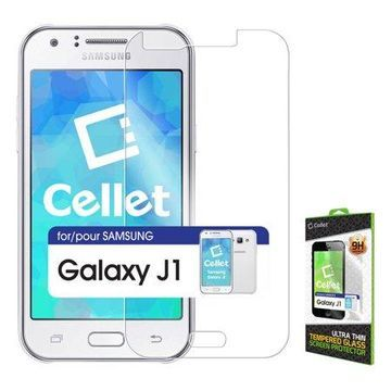 Cellet Premium Tempered Glass Screen Protector for Samsung Galaxy J1