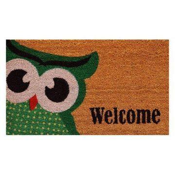 Home & More Owlet Welcome Doormat