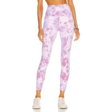 Beyond Yoga High Waisted Midi Legging in Orchid Haze Cosmic Dye   FWRD