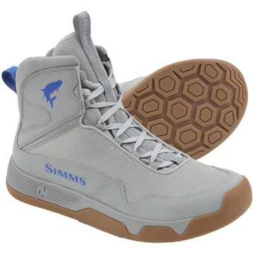 Simms Men's Flats Wading Sneakers 7; Boulder