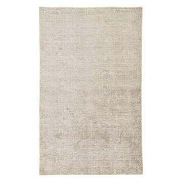 Jaipur Living Oxford Handmade Solid Silver Area Rug, 5'x8'