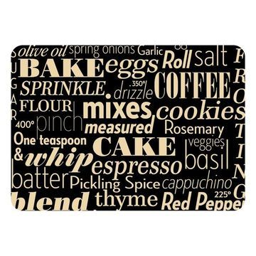 Bungalow Flooring Kitchen Words Indoor Outdoor Comfort Mat - 22'' x 31''