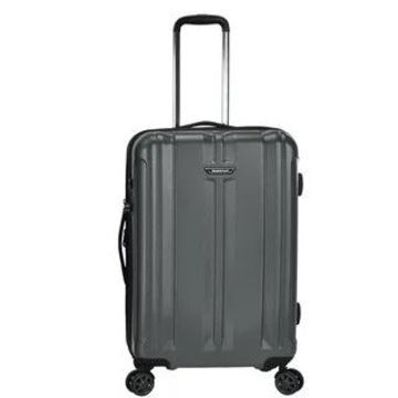 Traveler's Choice La Serena 26-inch Hardside Spinner Upright Suitcase (Grey)