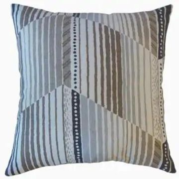 The Pillow Collection Parkin Stripes Decorative Throw Pillow