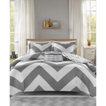 Mi Zone Libra Reversible 4-Pc. Full/Queen Duvet Cover Set Bedding