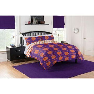Clemson Tigers 5-Piece Queen Bed in a Bag Comforter Set Multi