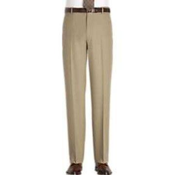 Joseph & Feiss Tan Classic Fit Pants