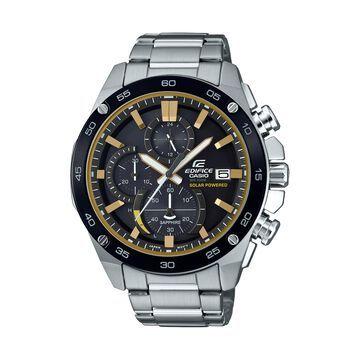 Casio Men's Edifice Solar Power Chronograph Watch EFSS500DB-1BV