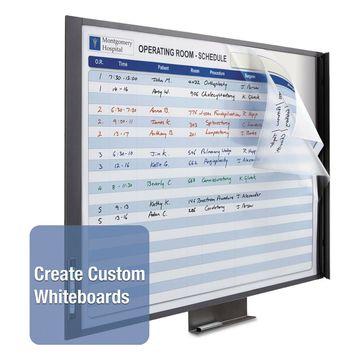 Quartet InView Custom Whiteboard 48 x 36 Graphite Frame 72981