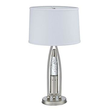 Homelegance Table Lamp with Sparkling Decorative Water-Drop Dancing Water Night
