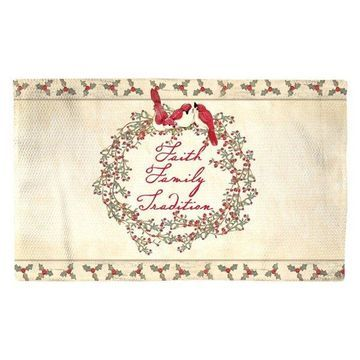 Laural Home Faith Family Tradition Accent Rug