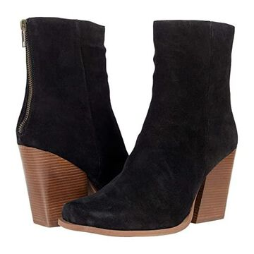Seychelles Every Time You Go (Black Suede) Women's Shoes