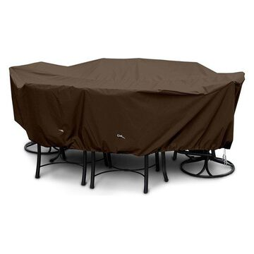 X-Large Dining Set Cover, Chocolate