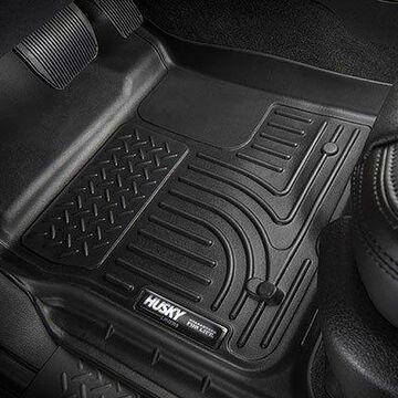 2020 Lexus GX 460 Husky Liners WeatherBeater Floor Liners & Mats, Floor Liner - Front - PN 53761 in Black