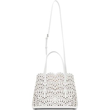 ALAIA White Vienne Vague Mina 25 Bag