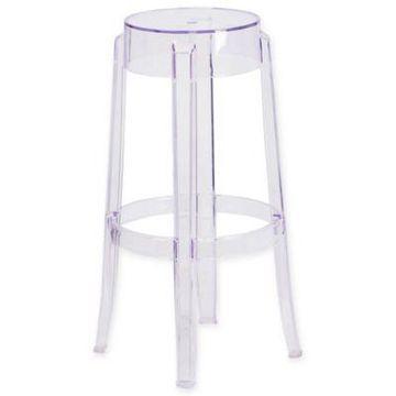 Flash Furniture Transparent Bar Stool